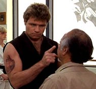 If Daniel had studied with Sensei John Kreese instead of Miyagi, it would have made a much more interesting movie.... LOL